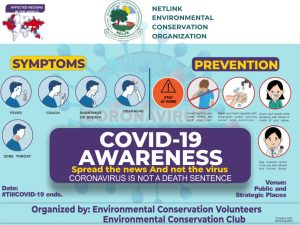 COVID 19 awareness flyer